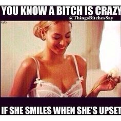 If she laughs when she's upset or mad..... you should run. bahahahahaha ;-) I only know from personal experience!