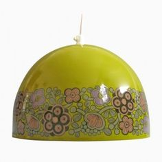Green Arabia Pendant Light by Kaj Franck for Fog & Mørup