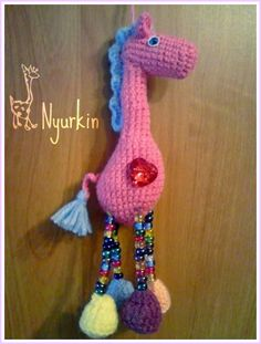 knitting fairy giraffes