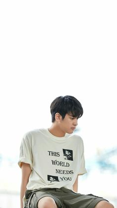 This world need you Chanwoo Sea Wallpaper, Ikon Wallpaper, Chanwoo Ikon, Kim Hanbin, Bobby, K Pop, Ikon Member, Jay Song, Ikon Kpop