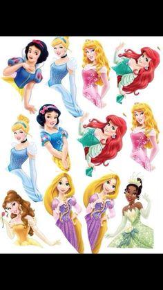 Princesses template