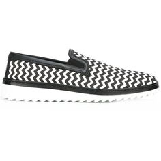 Dolce & Gabbana chevron pattern slip-on sneakers (13,535 DOP) ❤ liked on Polyvore featuring men's fashion, men's shoes, men's sneakers, black, mens slipon shoes, mens sneakers, mens black slip on sneakers, mens round toe shoes and dolce gabbana mens shoes