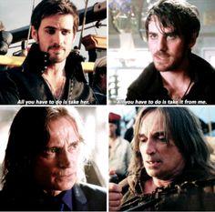 "Parallels | Hook and Rumplestiltskin - 2 * 4 ""Crocodile Vs Killian Jones and Rumplestiltskin - 5 * 10 ""Broken Heart"""