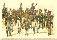 Artillery 1812: Guard Horse (1,5), Guard Foot (2,3,4,6), Line  Foot ( 7,9,10) Cossack Horse (8),Guard Sapper (11), Guard Pioneer (12). Louis de Beaufort