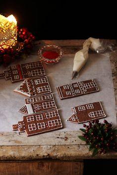 Gingerbread House Designs, Christmas Cake Designs, Christmas Cake Decorations, Christmas Gingerbread House, Christmas Sweets, Noel Christmas, Christmas Baking, Christmas Cookies, Christmas Crafts