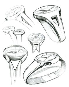 Watch sketches on Behance
