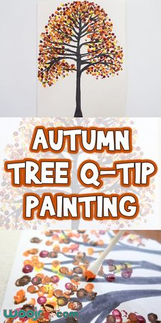 Art therapy activities for seniors Art therapy activities for seniors Autumn Tree Q-Tip Painting Autumn Activities For Kids, Fall Preschool, Fall Crafts For Kids, Toddler Crafts, Preschool Crafts, Projects For Kids, Art For Kids, Autumn Art Ideas For Kids, Crafts For Seniors