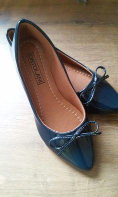 e001287504 sapatilha feminina bico fino com laço delicado e super confortável