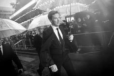 B & W {Opening night gala screening of 'The Imitation Game' during the 58th BFI London Film Festival }