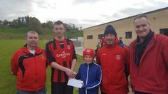 Westport United FC ran a competition in conjunction with the first match on the new pitch this afternoon and supporters were asked to predict the time of the first goal to be scored. There were three people with 10 minutes Peter McNally Katie Kenny and Michael Horan. As this was a tie breaker a draw was made and the lucky winner of a voucher for Elvery Sports was Peter McNally. Many congratulations to him and commiserations to Katie Kenny and Michael Horan. Many thanks to all who entered the…