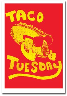 Taco Tuesday - Art Print