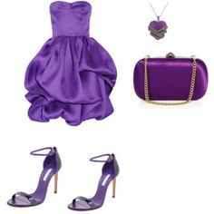 Purple Chic -Polyvore created by me
