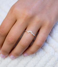 with rose love for stacking pin a by delicate such diamond pave pretty great marquise ring west east rings audry