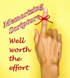 6 TIPS FOR MEMORIZING SCRIPTURE