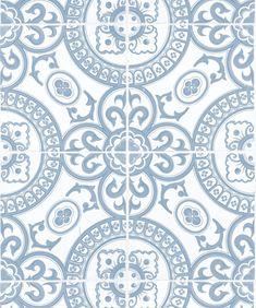 Heritage Tiles Wallpaper