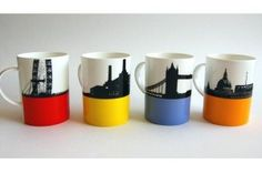 London Landscapes Mugs £50.00 by The Art Rooms