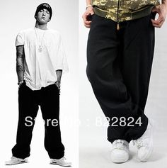 2013 New Arrival Free Shipping Fashion Brand Men's Jeans  Men Casual Loose Hip-Hop Jean Baggy Pants   Large size 30-46 $44.99