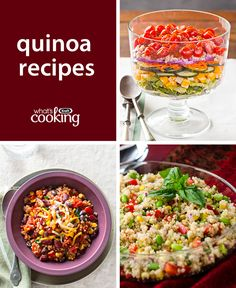 Quinoa #recipes for protein-packed meals.