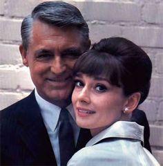 <3 love .....Audrey Hepburn w/ Cary Grant