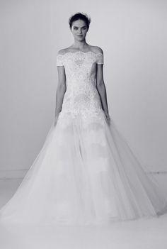 Tendance Robe du mariée  2017/2018  Alyne by Rita Vinieris Off-the-Shoulder Wedding Dress