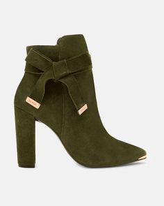 Discover women's shoes with Ted Baker. Choose from block heel sandals, high heels, peep toe shoes, floral patterned and leather ladies footwear. Short Heel Boots, Suede Booties, High Heel Boots, Leather Ankle Boots, Ankle Booties, Heeled Boots, Bootie Boots, Shoe Boots, High Heels
