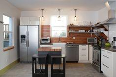 Shift Vacation Rentals - contemporary - kitchen - portland - Encircle Design and Build