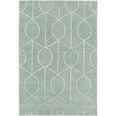 Found it at Wayfair - Urban Marie Hand-Tufted Teal Area Rug