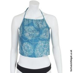 Crop Tops - The Festival Clothing Company Festival Crop Tops, Festival Shirts, Festival Outfits, Festival Clothing, Long Ties, Beautiful Blouses, Hippie Outfits, Clothing Company