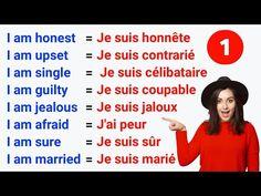 French Language Basics, French Language Lessons, French Lessons, English Lessons, How To Speak French, Learn French, Learn English, French Words Quotes, French Phrases
