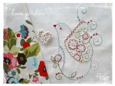 Looking for your next project? You're going to love Dove Garden - stitchery by designer Elefantz. - via @Craftsy
