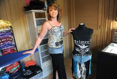 Altered St8 Couture  Owner/ Designer- Lisa Ritchey Creating one-of-a-kind restyled / upcycled / altered fashions from vintage t-shirts, jeans and second-hand materials. #upcycledfashions #oneofakinddesigns #restyled #tshirt #couture