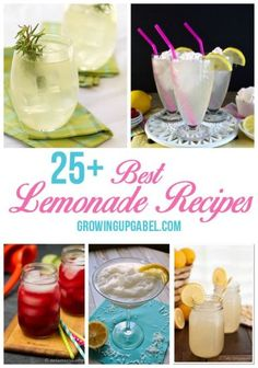 Looking for the best lemonade recipes? From pink lemonade to berry lemonade to spiked lemonade to desserts - this list has it all. Whether you are at a party having cake and ice cream or just hanging by the pool make lemonade your summer drink of choice!