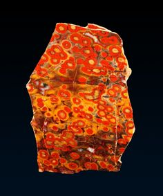 Stones & Crystals: Morgan Hill Poppy Jasper from California Minerals And Gemstones, Crystals Minerals, Rocks And Minerals, Stones And Crystals, Gem Stones, We Will Rock You, Rock Collection, Beautiful Rocks, Mineral Stone