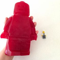 giant gummy lego man howtocookthat