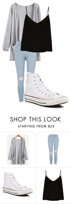 """""""december 27"""" by megaspirit on Polyvore featuring River Island, Converse and Raey"""
