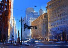 Market Street by zhuzhu