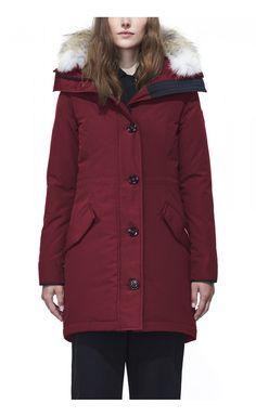 Canada Goose Rossclair Parka Niagara Grape Women - Canada Goose #canadagoose #parka #jacket #fashion #Halloween #blackFriday
