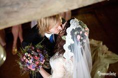 Sinead and Jukka's Barn Wedding - Aurantola - Jaala, Finland Wedding Photography Inspiration, Wedding Inspiration, Indoor Wedding Photos, 1930s Wedding, Small Intimate Wedding, Countryside Wedding, Reception Table, Best Day Ever, Wedding Portraits