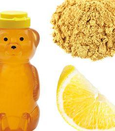Beauty Mask Fresh or Ground Ginger Honey and Lemon - Leave on 30 Minutes