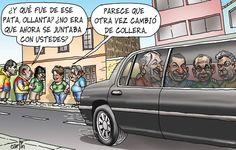 El trazo de Carlín sobre la nueva collera del presidente Ollanta Humala