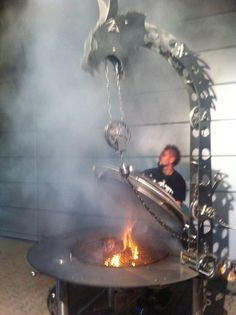 """Acquire wonderful suggestions on """"metal fire pit"""". They are actually accessible for you on our website. Fire Pit No Smoke, Metal Fire Pit, Concrete Fire Pits, Diy Fire Pit, Gazebo On Deck, Gazebo Roof, Carne Asada, Fire Pit In Pool, Diy Grill"""