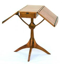 Folding-top table