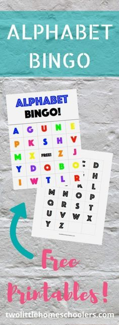 Learn the alphabet and letter recognition with Alphabet Bingo! Activities, alphabet, bingo, free printable, free printables, games, Homeschool, homeschool activities, Homeschool Curriculum, indoor activities, learn the alphabet, learning is fun, letter, l