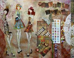 julie nutting | Julie Nutting Designs: A Sneak Peek...