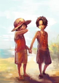 Wipe those eyes/Ace,Luffy/One piece