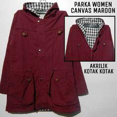 Parka Woman  Harga 135Rb Size XL  Info:  Bbm 5D63A411 Wa 085643087325