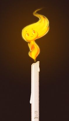 If all my flames were like this, my house would've burned down years ago...and I wouldn't've minded at all. :P