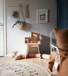 What a gorgeous kid's room! Ferm Living Funkis House available online.