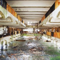 Refectory, Cardross (Scotland), from Wastelands, Dan Dubowitz