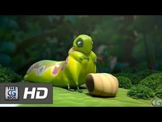 """**Oscar Nominated** Animated Shorts: """"Sweet Cocoon"""" - by ESMA 6 min Growth Mindset Videos, Monster Box, Animation 3d, Movie Talk, Film D'animation, Film School, Caterpillar, Problem Solving, Shorts"""